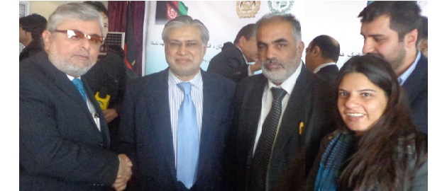 At 9th JEC Meeting with H.E. Mohammad Ishaq Dar in Kabul