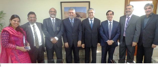 Meeting with Mr. Ishaq Dar, Finance Minister, Pakistan